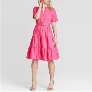 Who What Wear pink dress NWT
